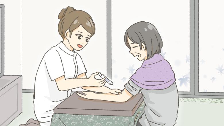 訪問看護事例:不定愁訴の強い利用者について